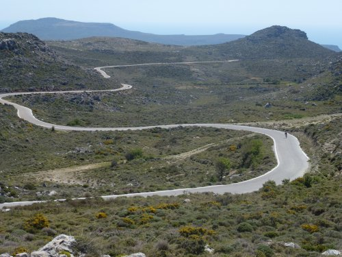 Cycling in East Crete