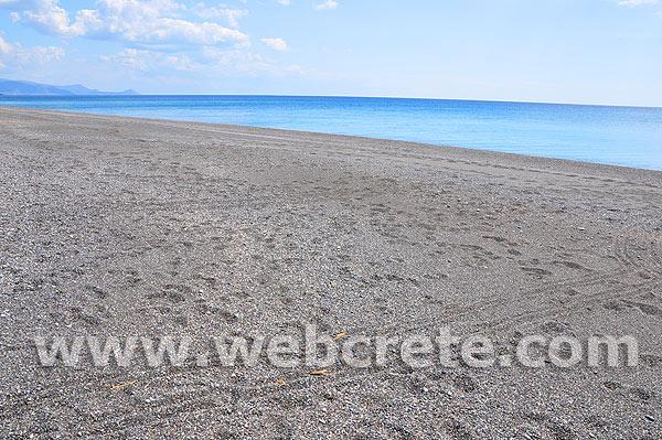 Koutsounari beach