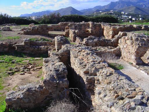 Μινωική και Ρωμαική Έπαυλη, Μακρύ Γιαλός