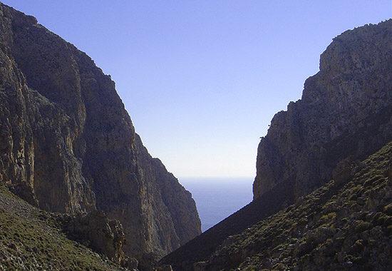 Xerokambos – Lamnoni Gorge