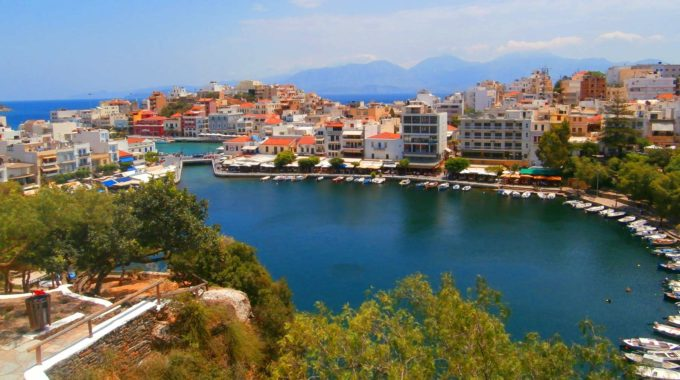 Agios Nkolaos Town