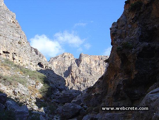 Pervolakia or Kapsa Gorge