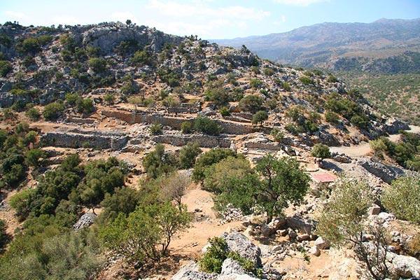 Lato ancient city, Kritsa