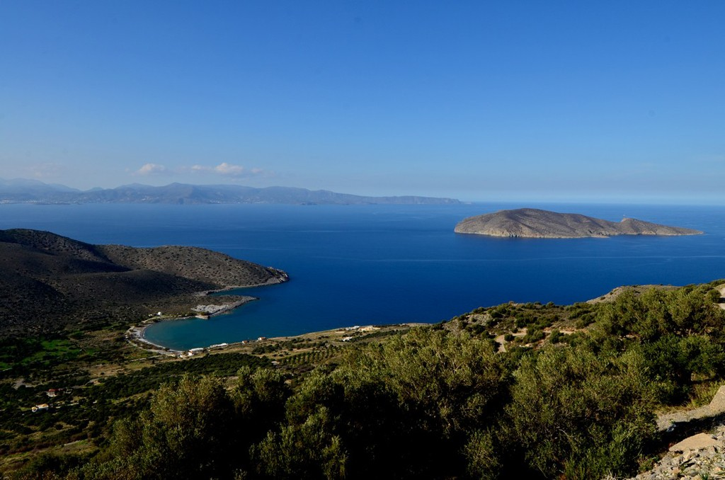 Tholos Beach and Mirambello Bay