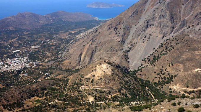 Minoan Settlement Of Kastro